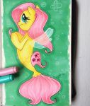 MLP:the Movie Fluttershy seapony by Antych