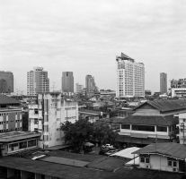 Thai hotel view by elhoff