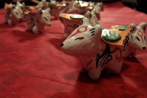 Many Okami wolfies by JillyFoo