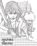 Michiko To Hatchin by ButteryFingers
