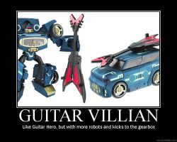 Guitar Villian by DarkShinkei5