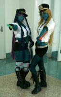 Zombie Panty and Stocking by archangelselect