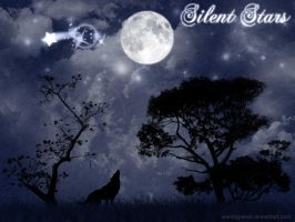 Silent Stars Wallpaper by Waiting-Wish