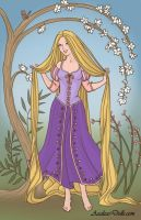 Rapunzel by PrincesaSevilla
