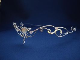 Moonlight circlet headpiece by ElnaraNiall