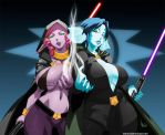 fayla and layen by cyberunique