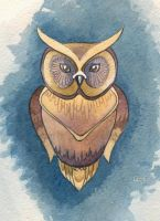 Owl in color by lazygirl-29