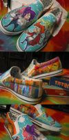 Futurama Shoes by real-faker