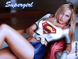 Supergirl by Silverfangs21