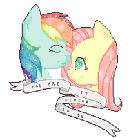 .:you are my reason to be:. by BubbleTapioca