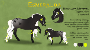 .:Esmeralda:. by BrindleTail
