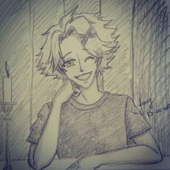 Yoosung Hey by amyrose7
