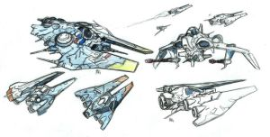 Attackships by bordon