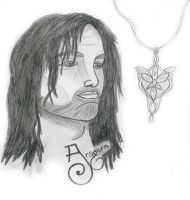 Aragorn - for spygirl4000 by Eluned