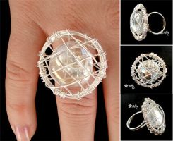 _Moon catcher - Ring by kitica