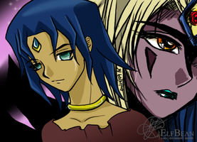 Yugioh GX @ Faces by ElfBean