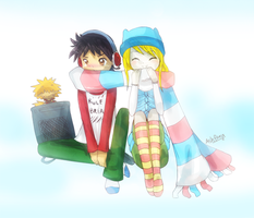 Couples - Winter by ashflura