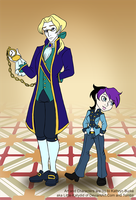 Allen and Yakira go to the OC Ball by Little-Katydid