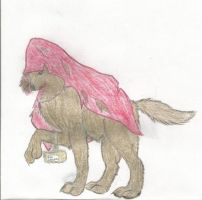Little Red Riding Hood Werewolf by 12girlwithadream