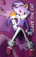 Blaze the cat : Freedom by Puretails