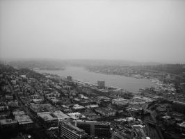 Lake Union by bluerosemoon1017