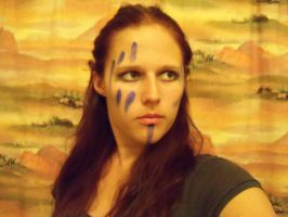 Etain Makeup Test by TimelordWitch10