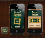 Arabic iPhone Application by hamzahamo