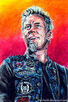 James Hetfield by the-ChooK