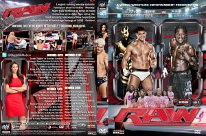 WWE Raw October 2013 DVD Cover by Chirantha