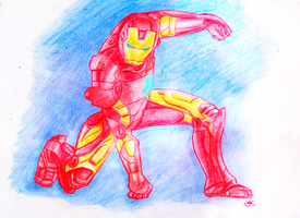 Iron Man by Lunell