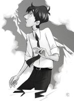 Disney's Paperman George by Tamasaburo89