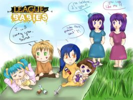 League of Babies !! :) by Flonia
