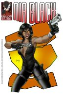 Nia Black Comicbook Cover by DaggerPoint