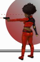 Misty Knight by Ink-and-Sugar