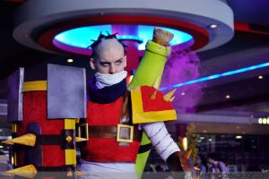 Acen: League of Legends - Singed Cosplay by MikeFertig