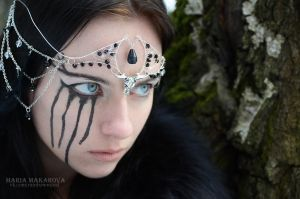 Circlet 'Spirit of the Dark Forest' by Madormidera
