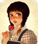 Apple Girl by ROSEL-D