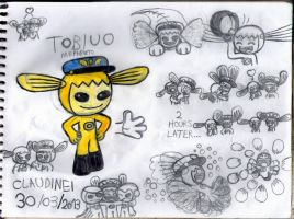 New Sushi Pack OC: Tobiuo by claudinei230