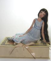 My latest porcelain doll - Isabella by MarynaS