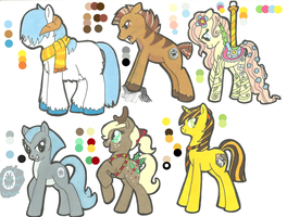 MLP:FIM Adoptables CLOSED by Kayla-san