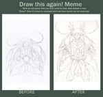 Meme: Draw this again by Artep89