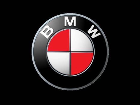 BMW red logo by Tito335