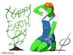 Happy Earth Day by chou-roninx