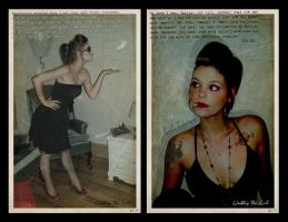 Waiting For Lili - Diptych by misfitmalice