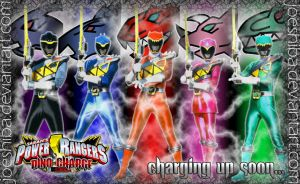 Dino Charge Promo by JoeShiba