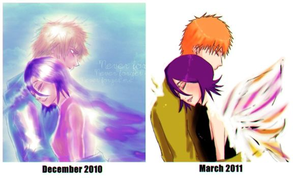 IchiRuki: Before-After by tomoyoyo