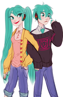 sweaters by snownymphs