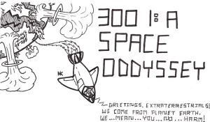 3001: A Space Odyssey by TheAntimonyElement