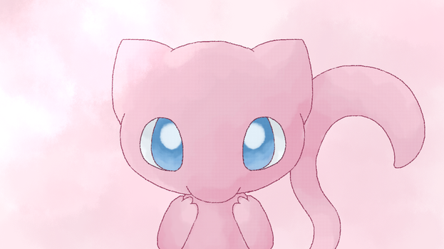 Pokemon Mew wallpaper by Chigle