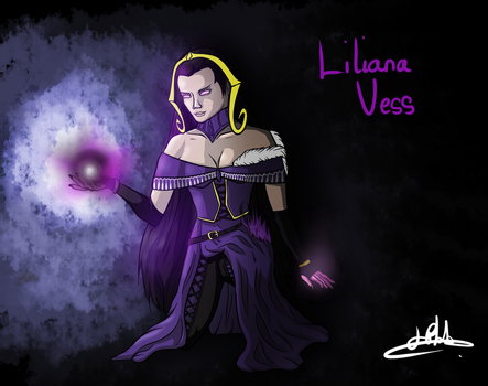 Liliana Vess, Holder of the Chain Veil by TheFinalIllusion